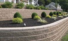 In-Wall Planters & Terraced Retaining Walls    In-Wall Planters or Terraced walls can create more usable space, tame slopes, build raised gardens and will give your yard a more aesthetic look.