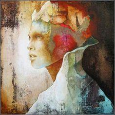 Surreal Portrait Paintings by Pascale Pratte