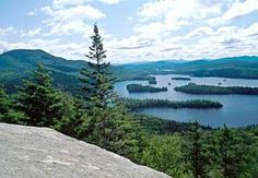 Blue Mountain Lake, NY - from Castle Rock - Great hike