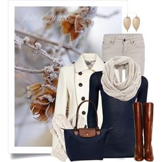 """""""Jack Frost Nipping At Your Nose"""" by wishlist123 on Polyvore"""
