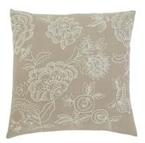 4 Embroidered Vintage Casual Natural Pillow Covers