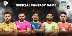 Pro Kabaddi League - Play Fantasy Pro Kabaddi Leagues Online in India. Create a team with your favourite players & compete against your friends on Pro Kabaddi League, Sports Sites, Fb Share, Match Schedule, Daily Fantasy, Win Cash Prizes, Asian Games, Cricket Match, Basketball Association