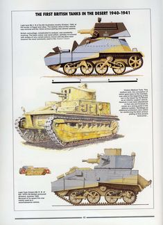 """Photo from album """"Histoire & Collections - Tanks of the WWII"""" on Yandex. Army Vehicles, Armored Vehicles, Military Art, Military History, Military Diorama, North African Campaign, Afrika Korps, Ww2 Tanks, Battle Tank"""