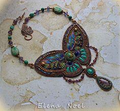 RESERVED Summer on the wings of a butterfly van ElenNoel op Etsy