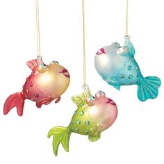 Fish Christmas Ornaments for your Nautical Christmas Tree. IDEA ...