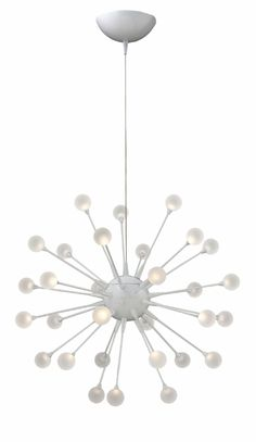 Hinkley Lighting - Impulse FR44413CLD chandelier / pendant -- Cloud finish; other finishes available -- LED