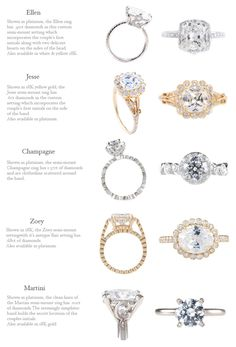 Erica Courtney Engagement Rings