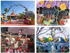 Seuss landing at Universal Islands of Adventures