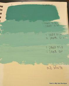 Annie Sloan Chalk Paint Ideas | Color Recipes (Annie Sloan Chalk Paint) | Chalk Paint (& other pain...