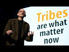 Seth Godin argues the Internet has ended mass marketing and revived a human social unit from the distant past: tribes. Founded on shared ideas and values, tribes give ordinary people the power to lead and make big change. He urges us to do so.