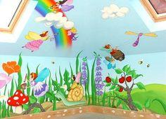 Znalezione obrazy dla zapytania child room design wall