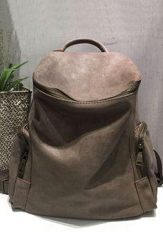 A PLACE - Pocket Design Zip Closure Backpack