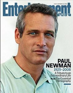 """Entertainment Weekly"", October 2008 (Tribute to Paul Newman) – Lee A. ""Entertainment Weekly"", October 2008 (Tribute to Paul Newman) ""Entertainment Weekly"", October 2008 (Tribute to Paul Newman) Most Beautiful Man, Gorgeous Men, Beautiful People, Amazing Man, Amazing Eyes, Awesome, Entertainment Weekly, Marlon Brando, Barbara Stanwyck"