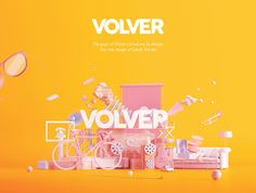 Volver on Behance