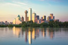 Dallas Skyline, Fine Art, Cityscape Photography, Landscape Photos, Texas Wall Decor, Texas Photography, Skyline Photography, Dallas Sunset