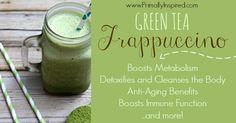 Green Tea Frappuccino Recipe