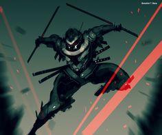 Ninja from the Future #1 by benedickbana.deviantart.com on @deviantART