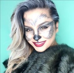 Wolf - The Most Hauntingly Gorgeous Halloween Makeup Looks on Instagram - Photos
