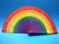 Rainbow wood fan LGBT New by chueca spain Rainbow wood fan LGBT New i buy it in chueca spain perfect for gift or for weddings I have several and many articles lgbtt look at my post lgbt Accessories Sunglasses Rainbow Wood, Lgbt News, Sitges, Victorian Fashion, Diy And Crafts, Hand Painted, Cool Stuff, Hand Fans, Gifts