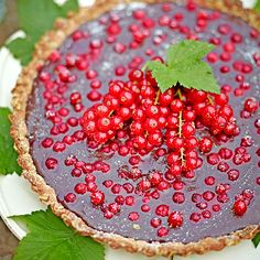 Vinbärspaj med choklad   Tidningen Hembakat