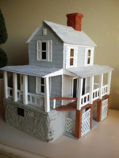 Cinderella Moments: Lance's Old Farmhouse Miniature House