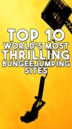 The World's Most Thrilling Bungee Jumping Sites Travel and tourism is one of the most booming businesses of the century. People travel for various purposes like luxury, adventure or business. People love to explore. Top Travel Destinations, Travel And Tourism, Places To Travel, Finland Travel, Rock Climbing Gear, Bungee Jumping, New Zealand Travel, South America Travel, China Travel
