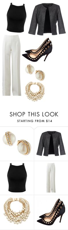 """""""Madam Secretary"""" by fashionlover351 ❤ liked on Polyvore featuring Kate Spade, ONLY, Miss Selfridge, Michael Kors and Gianvito Rossi"""