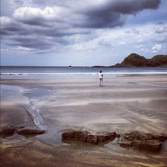 Playa Ocotal - Morgan's Rock - Pacific Coast, Nicaragua - photo by Daniel Noll (uncornered_market on Instagram)