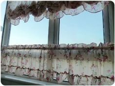 Romantic Ruffle Adjustable Balloon Shade/Cafe Curtain, Valance by Victoria's Deco, http://www.amazon.com/dp/B0048DEC3G/ref=cm_sw_r_pi_dp_ntlSpb1RF52AN