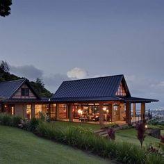 Gable Roof Design, Glass