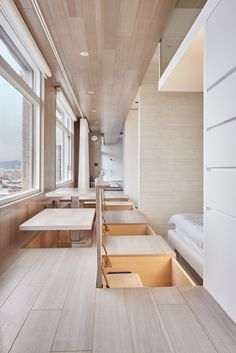 White Walls and In-Floor Storage Make This Creative House Design Special Small Apartments, Small Spaces, Small Rooms, Interior Architecture, Interior And Exterior, Japanese Interior, Decoration Inspiration, Tatami, Japanese House