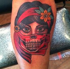 Mimi Wunsch - Minneapolis, MN  American Traditional Tattoo