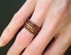 Pretty Stack Rings - 8 Gorgeous DIY Jewelry Tutorials | How Does She.com