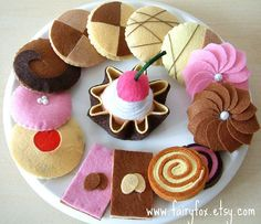 Felt Patterns | felt food pattern Cookies from 4x | Flickr - Photo Sharing!