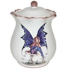 Tuscany Amy Brown Fairy Hand Painted Cookie Jar by ACK, http://www.amazon.com/dp/B00A9JPSLS/ref=cm_sw_r_pi_dp_pe.asb0NAMJBN