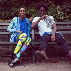 Tallawa Fall 13 can't keep a straight face:) #inthepark, #leggings, #t-shirts, guysfashion, #girlsfashion, #prints