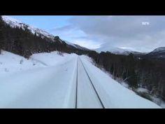 Beautiful Train Journey in Winter From Mo i Rana to Bodo 01