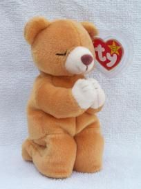 Ty Beanie Baby - Hope the Praying Bear - Free Ship  15.00 Ty Babies 40fe91362cb