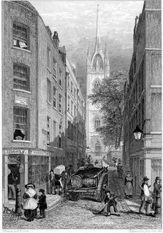 The church of St Dunstan in the East, London Bethnal Green, My Ancestors, My Town, Past Life, East London, London England, Vintage Photos, Celtic, Saints
