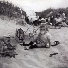 Ideaal voor kinderen, lekker spelen op het strand!