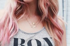 Express your true self with your #namenecklace The gold alegro style is the perfect touch! Thanks @cheraleelyle
