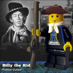 Famous People in LEGO