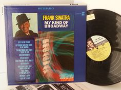 FRANK SINATRA my kind of broadway, FS 1015 - SOUNTRACKS, COMEDY, POP, VARIOUS ARTISTS, MISC. #LP Heads, #BetterOnVinyl, #Vinyl LP's