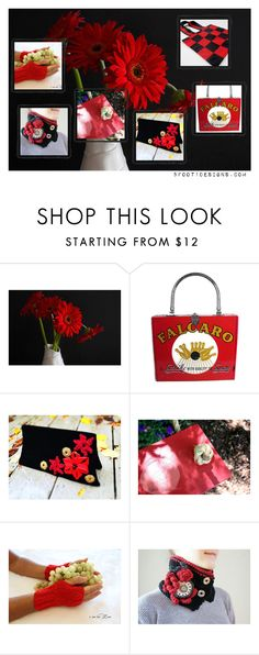 Red Shopping Selections by fivefoot1designs on Polyvore featuring rustic