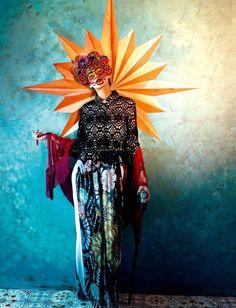 'Viva la Vida'. Agnes Sokolowska By Sandrine Dulermo And Michael Labica For Amica Magazine May 2013