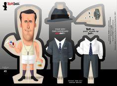 Don Draper Pin Up Doll