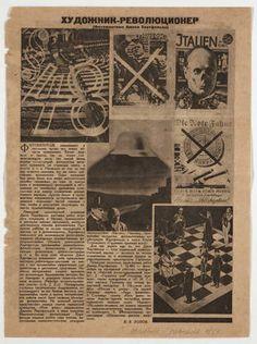 John (born Helmut Herzfelde) Heartfield. Hudozhnik-Revolucioner. 1931 or later