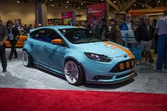 2014 Ford Focus ST brought to you by Universal Technical Institute. www.uti.edu/focus for a chance to win it!