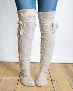 Grace and Lace - Alpine Thigh Highs, $39.00 (http://www.graceandlace.com/boot-socks/alpine-thigh-highs/)