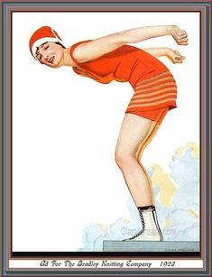 1923-Bradley-Swimsuit-artist-Coles-Phillips.jpg (613×800)